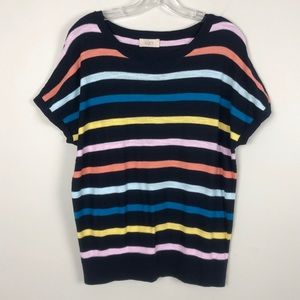 Loft Outlet Striped Sweater Top